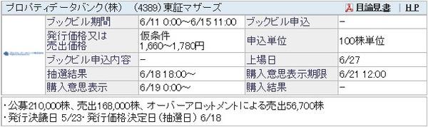 IPO-35-4389-仮 プロパティデータバンク