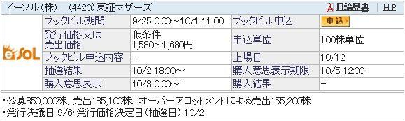 IPO-69-4420-仮 イーソル