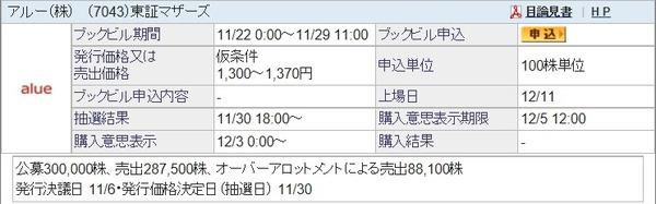 IPO-78-7043-仮 アルー