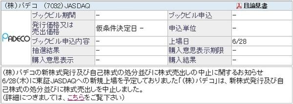 IPO-37-7032-仮 パデコ
