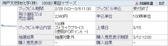 IPO-4-6568-結果 神戸天然物化学