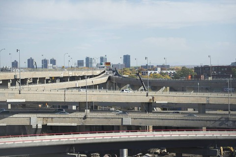 Turcot interchange (The Canadian   Press)