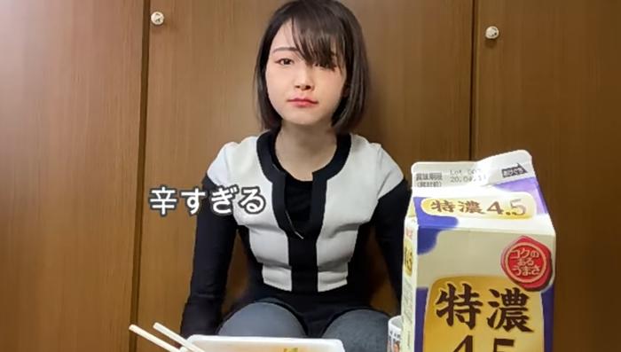 【画像】女YouTu.berさん、企画に耐えられずガチ泣き