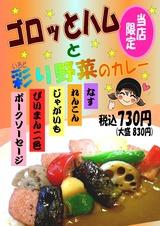 ゴロッとハムと彩り野菜のカレー02