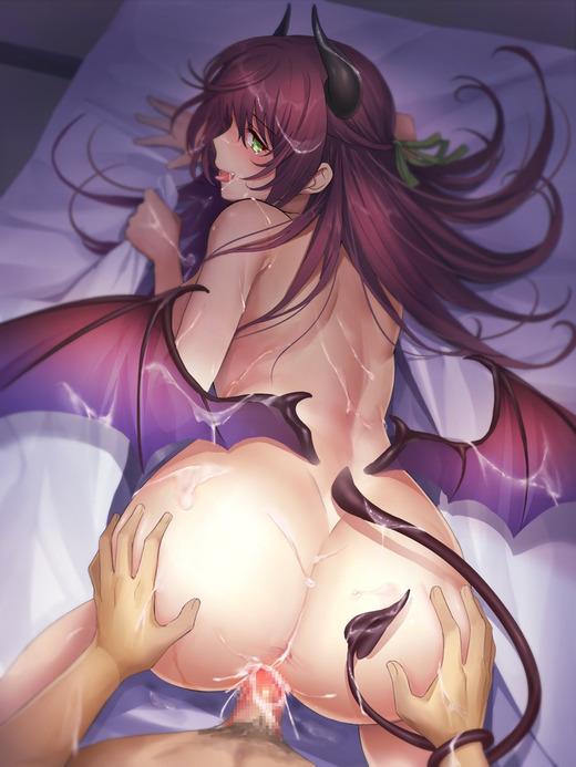 【二次エロ】サキュバスにおチンポミルク搾り取られたい人のためのサキュバス画像