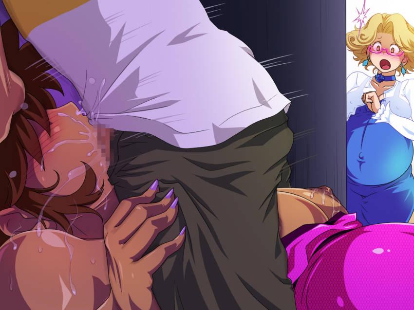 【二次エロ】あまりの精液量に鼻から精液が垂れているフェラチオ画像ください!