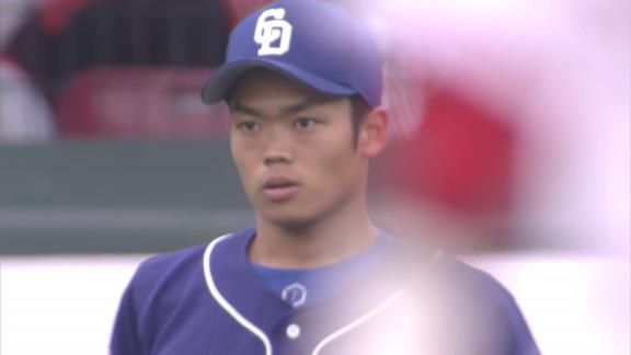 """中日・与田監督「使っている監督の責任。選手はどんな時も思い切ってプレーするだけ。うまくいかなくても僕は使っていく。若い選手には""""良い選手になってほしい""""という思い、それが1番」"""