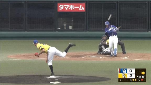 中日ドラフト1位・石川昂弥、バンデンハーク撃ち! 内角速球を弾き返すレフトオーバーのタイムリーツーベース!「真っすぐだけ狙っていたので、打てて良かったです」【動画】
