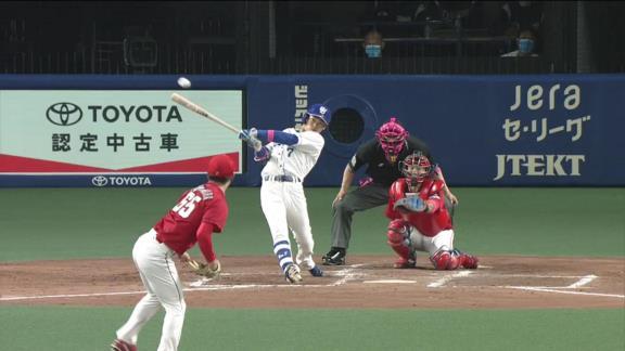 中日・根尾昂、連日のマルチヒットで打率上昇中!!!「抜けてきている球を合わせずに振りきれたのが良かったと思います」【動画】