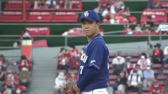 中日・柳裕也投手「自分のピッチングができました」