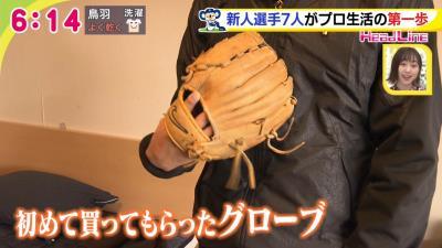 中日ドラフト2位・橋本侑樹投手は野球を始めた時に買ってもらったグローブを持って入寮 その理由とは?