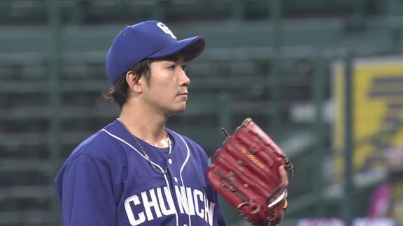 中日・勝野昌慶、4回2失点で降板「走者がいない場面であれだけ四球を出してしまっては…。送りバントもしっかり決めないと」【投球結果】
