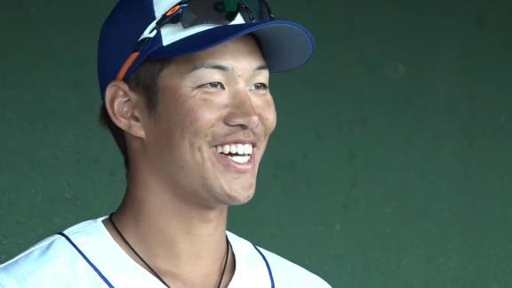 中日・京田陽太、沖縄春季キャンプを振り返る「若い選手が多いなか良い雰囲気で出来たと思います」