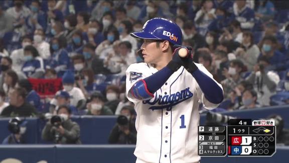 中日・京田陽太「最近、試合に出れなかったりして悔しい思いをしていたので、そういう気持ちを持って打席に臨みました」