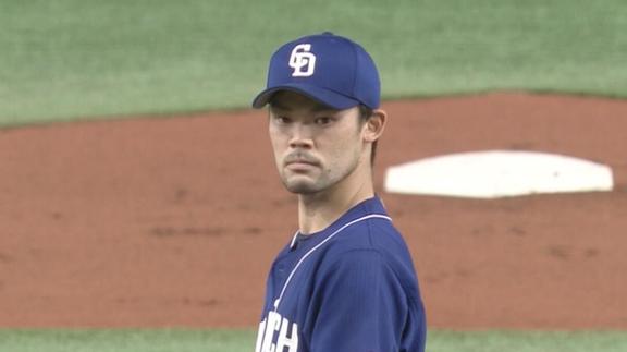 中日・福谷浩司投手「丸さん、ボール球を逆方向にホームラン打つのは反則です」