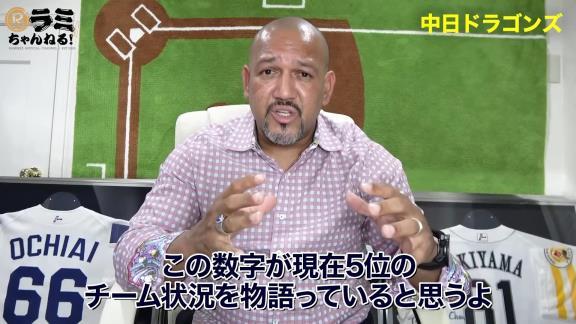 アレックス・ラミレスさん「中日ドラゴンズはとても力のあるチームだと思っているよ。低迷の原因はやはり…」【動画】