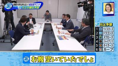 川上憲伸さんの2020年セ・リーグ順位予想!「ほんでこれ決める時、ちょっとお腹空いてたんです僕」