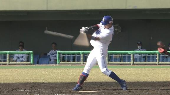 中日・岡林勇希、フェニックス・リーグで2安打マルチヒット1打点の活躍!【動画】