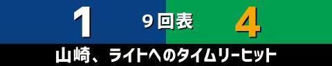 5月14日(金) セ・リーグ公式戦「中日vs.ヤクルト」【試合結果、打席結果】 中日、1-4で敗戦…チャンスであと1本が出ず、10安打6四死球も1得点