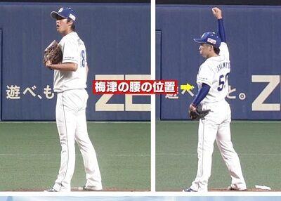 中日・山本拓実投手「梅津さんと並んで立つと…梅津さんの腰がこの辺にあるわけですよ」