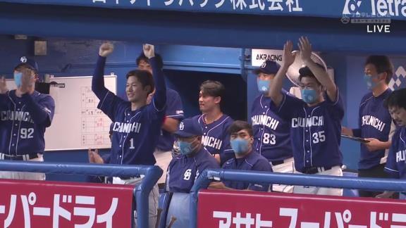 中日・大島洋平、史上127人目の通算1500本安打達成!!!【動画】
