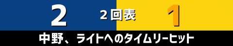 8月21日(土) セ・リーグ公式戦「中日vs.阪神」【試合結果、打席結果】 中日、6-2で勝利! 連勝で2カード連続の勝ち越しを決める!!!