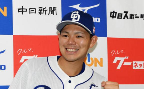 中日・高橋周平が選手間投票でオールスター出場決定