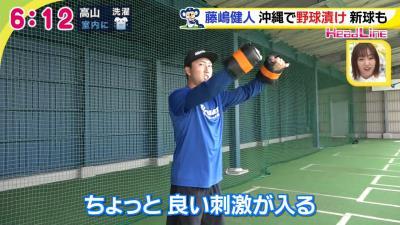 中日・藤嶋健人投手は『ドライブライン』で教わったウォーミングアップ法に手応え「良い刺激が入る」
