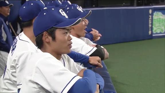 中日・根尾昂、ドラ2橋本侑樹のスーパープレーをウキウキで真似する【動画】