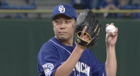 中日・大野雄大投手、セ・リーグ防御率ランキングで4位まで浮上する