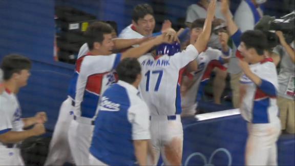 元中日のラウル・バルデス投手(43歳)、東京オリンピック韓国戦で6回途中1失点の好投を見せるも勝利目前の9回裏にリリーフ陣が打ち込まれ勝利ならず…まさかの逆転サヨナラ負け…