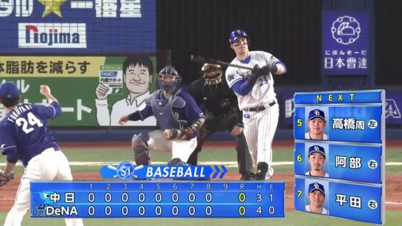 中日・高松渡が見せた神走塁!!! 8回無失点の好投を見せた先発・福谷浩司に勝利を届けるホームイン!ベンチも大盛りあがり!【動画】