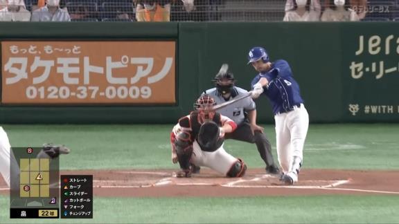 中日・阿部寿樹、特大の第5号ソロホームランを含む2安打の活躍!「今まで真っすぐも変化球も両方打とうとしていたが、今はどっちかに狙いを決めてスイングしています」【動画】