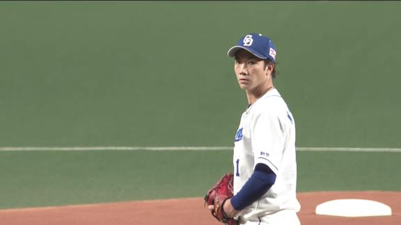 中日・勝野昌慶、8回1失点の好投で今季初勝利!「とにかく相手に点を与えない、勝つという強い気持ちを持って投げてました」 与田監督「本当に心強いピッチングで今日はよく投げてくれた」【投球結果】