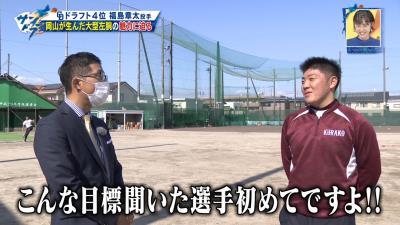CBC・若狭敬一アナ「こんな目標聞いた選手は初めてですよ!」 中日ドラフト4位・福島章太投手が掲げるプロ入り後の目標とは…?