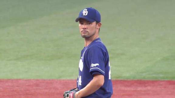 中日・福谷浩司、6回途中3失点で敗戦投手に…「最後、ああいう形で途中でリリーフに渡してしまったので申し訳ないです」【投球結果】
