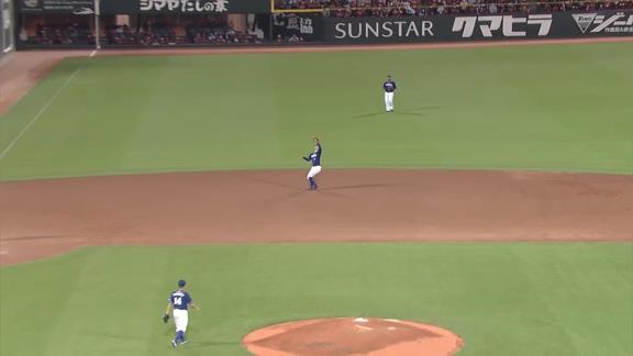 中日・谷元圭介、1点差1アウト1,3塁のピンチを無失点に抑える会心の火消し投球! ロドリゲス「谷元さんに申し訳なかったけど、ものすごく良いピッチングをしてくれて感謝です」【投球結果】