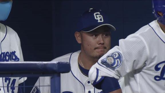 中日・鈴木博志投手、最高の笑顔を見せる