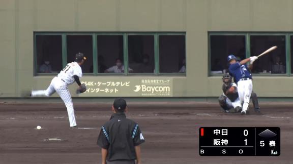 中日・石垣雅海、掛け持ち出場の2軍戦で豪快なホームラン含む2安打3出塁の活躍!「結果を残すしかない。感覚を呼び起こす2軍戦に出ることができて、ありがたい」【動画】