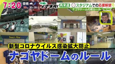 7月10日から観客解禁のナゴヤドーム 新型コロナ対策ルールでどう変わる?