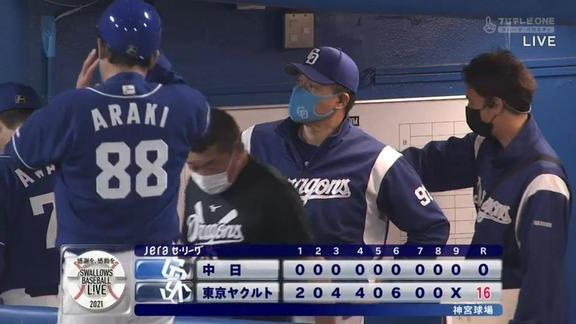 中日・与田監督、高橋周平選手がスタメンから外れた理由を明かす