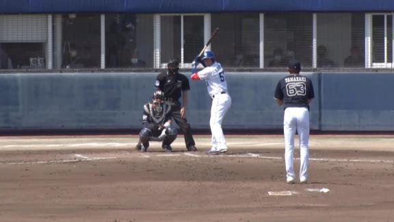 長打力不足に苦しむ中日に朗報! アリエル・マルティネスがファームで今季初実戦! いきなりバックスクリーンに飛び込むホームラン含む2打数2安打の大暴れ!