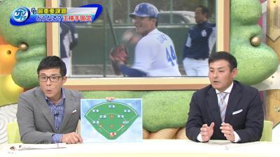 川上憲伸さんが考える中日の正捕手は…郡司裕也捕手! 川上「なかなか名字が珍しいですよね」 若狭アナ「そこ!?(笑)」