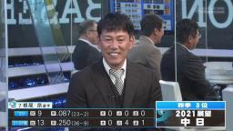 井端弘和さん、立浪和義さんに忖度する
