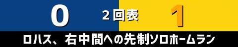 8月22日(日) セ・リーグ公式戦「中日vs.阪神」【試合結果、打席結果】 中日、0-2で敗戦… 好投した投手陣を援護できず、3連勝ならず…