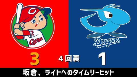 3月27日(土) セ・リーグ公式戦「広島vs.中日」【試合結果、打席結果】 中日、開幕2戦目は1-4で敗戦…連勝ならず