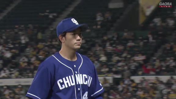 中日・勝野昌慶「不甲斐ないピッチングでチームに申し訳ないです」 甲子園初勝利ならず…5回途中3失点降板【投球結果】