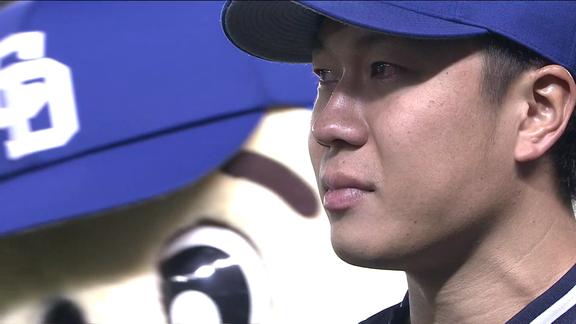 普通ならヤジなのに…中日・大野雄大が涙したファンからの声援「ファンの皆さんの声援のおかげ。僕はあれ以降ほんまにそう思って言うてるんです」