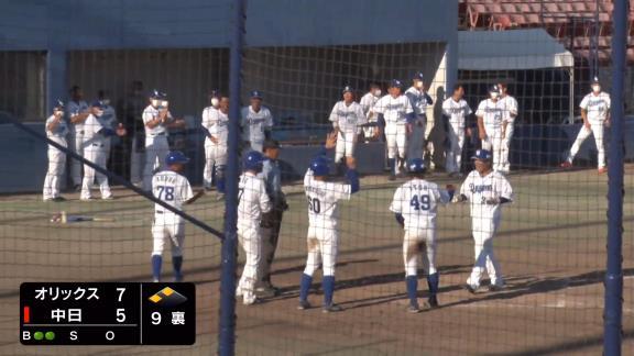 中日・渡辺勝、劇的な逆転サヨナラ3ランホームランを放つ!!!「サヨナラ本塁打は野球人生初だと思います」【動画】