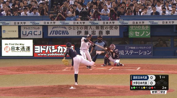 大船渡・佐々木朗希、大学打者3人を相手に2奪三振パーフェクト投球 最速は156km/h【動画】